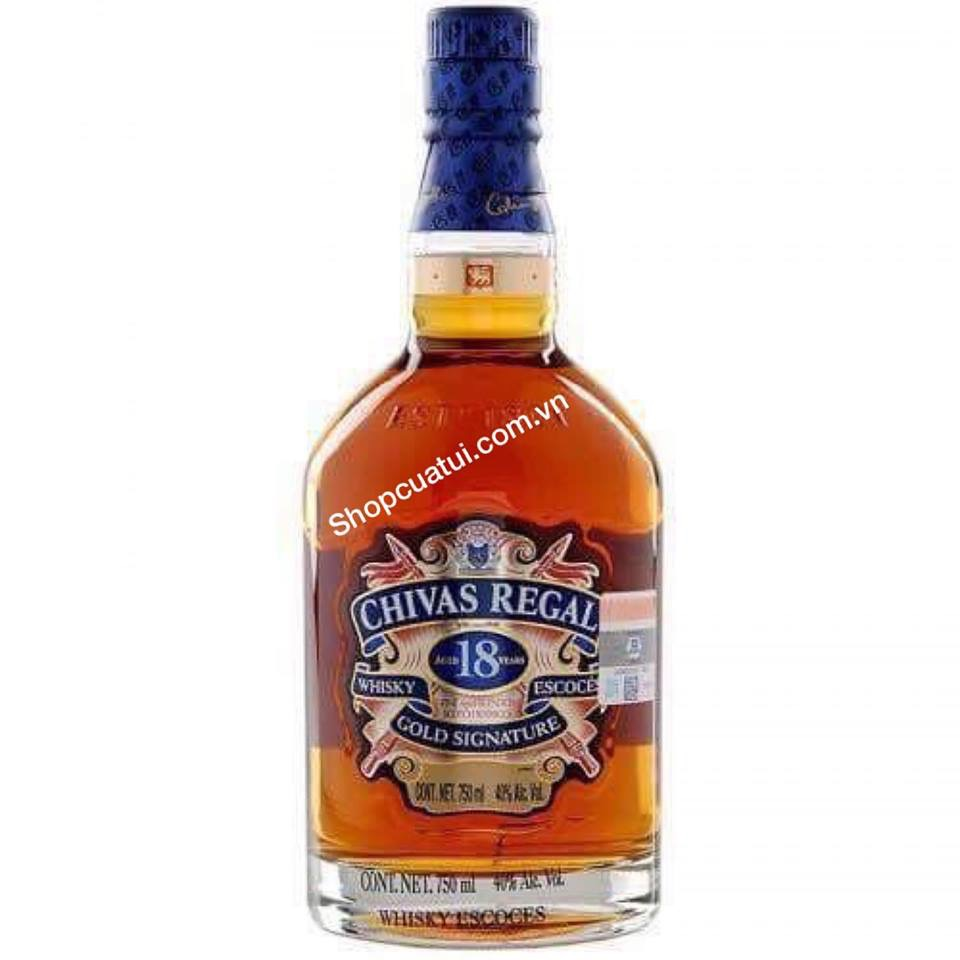 Rượu Chivas 18 Regal  750ml