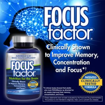 Viên uống bổ não Focus Factor Nutrition For The Brain 150 viên