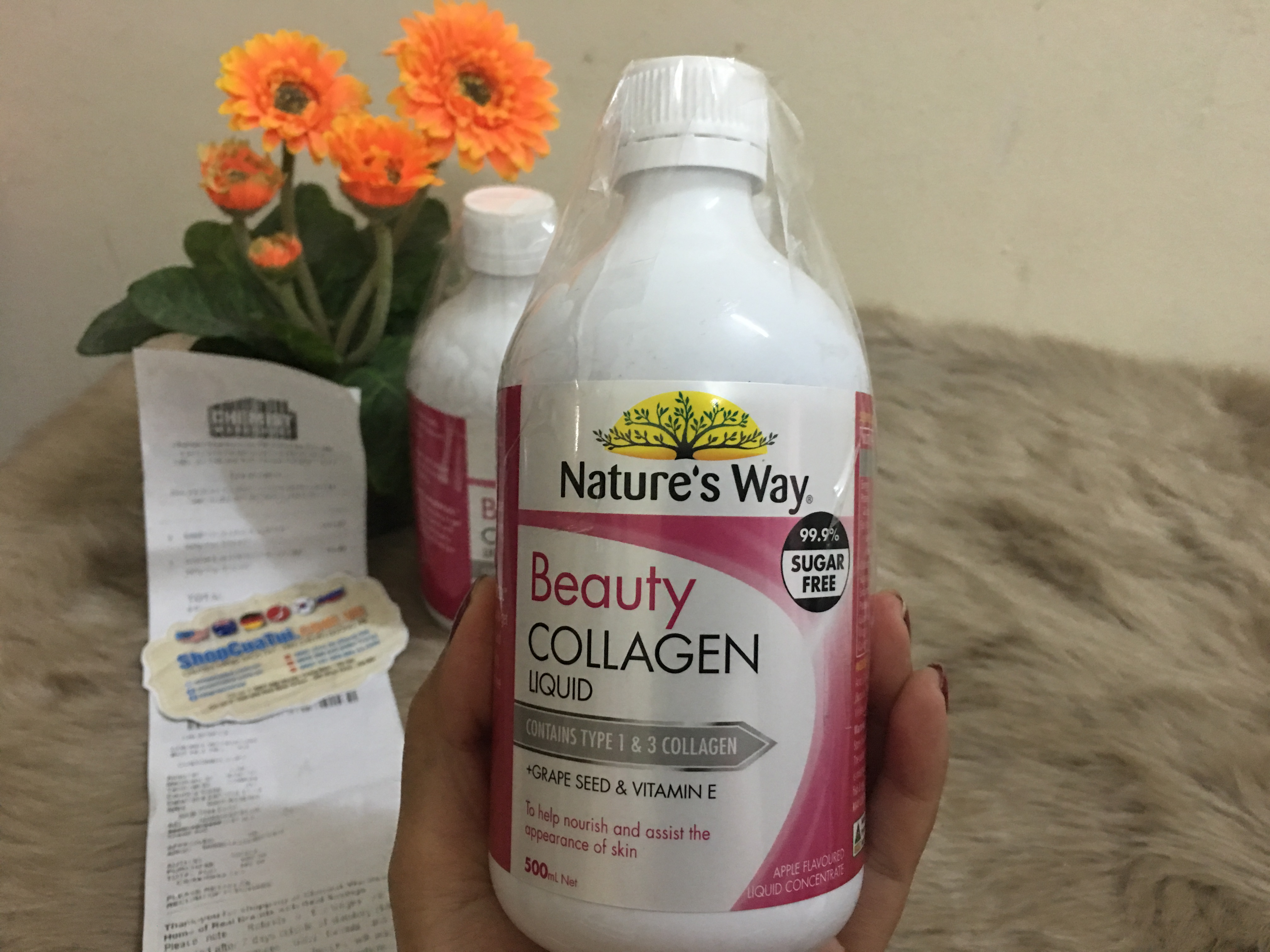 COLLAGEN DẠNG NƯỚC NATURE WAY BEAUTY COLLAGEN LIQUID 500ML