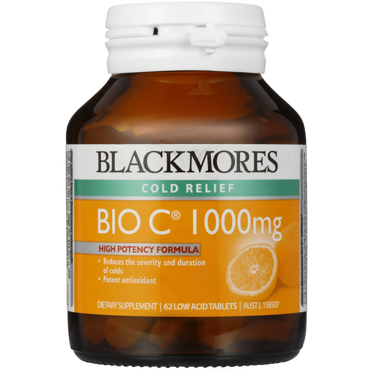 Blackmores Bio C 1000mg 62 Tablets Vitamin C