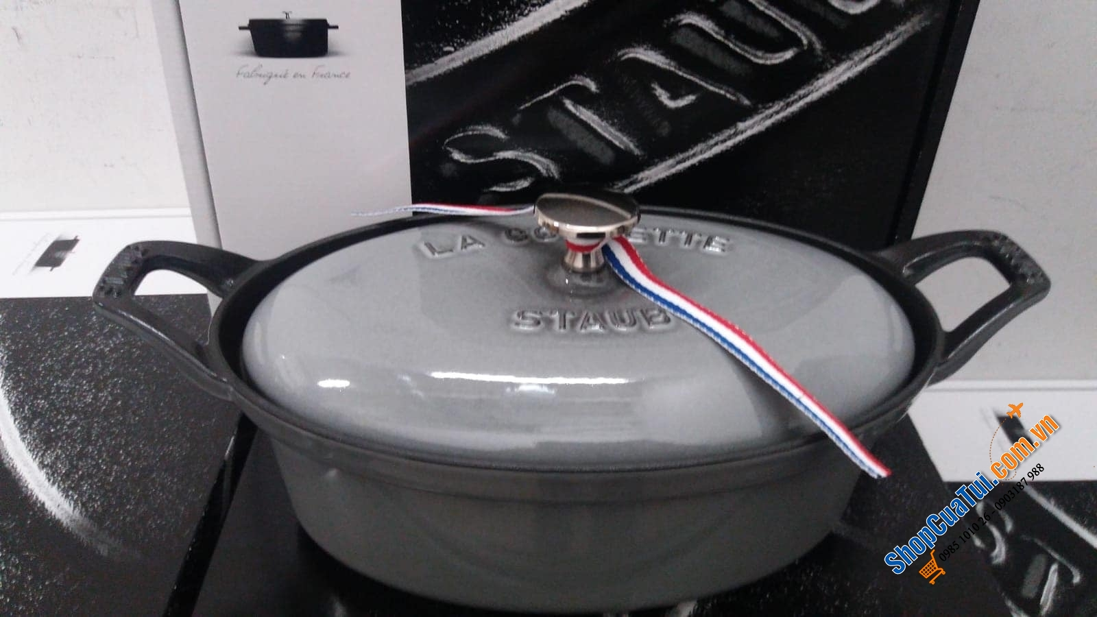 STAUB OVAL XÁM - MADE IN FRANCE