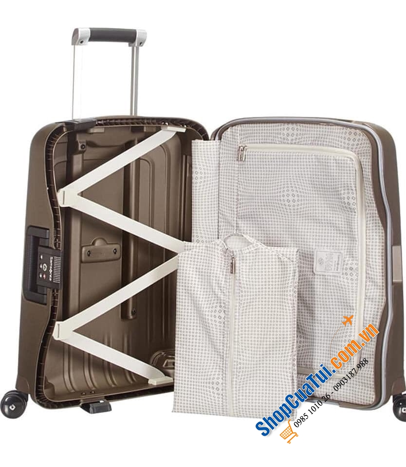 Vali ngăn Cabin Samsonite dòng Cure Deluxe 36 lít 40x55x20 cm