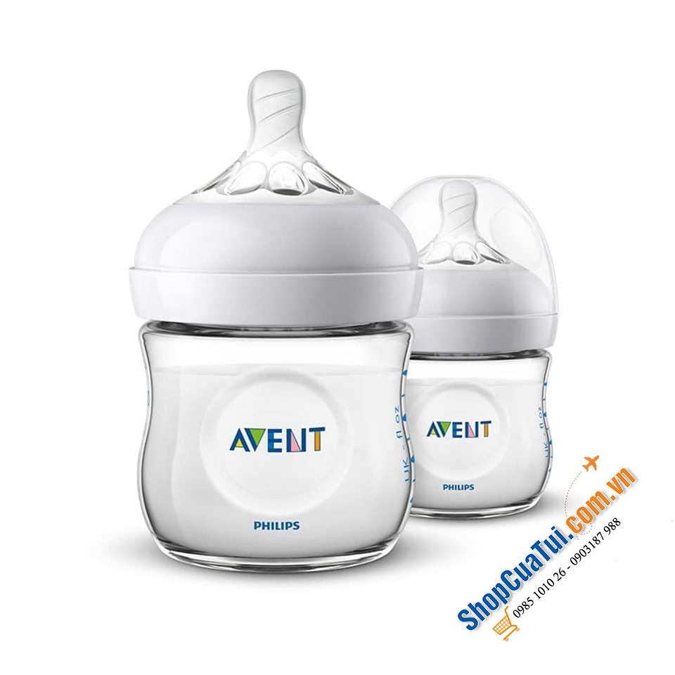 SET 6 BÌNH SỮA PHILIPS AVENT NATURNAH 125 ML.