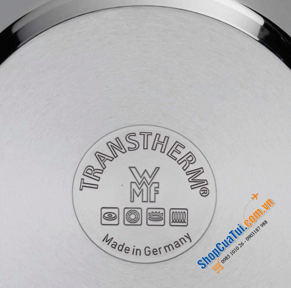 BỘ NỒI WMF CONCENTO 6 MÓN MADE IN GERMANY