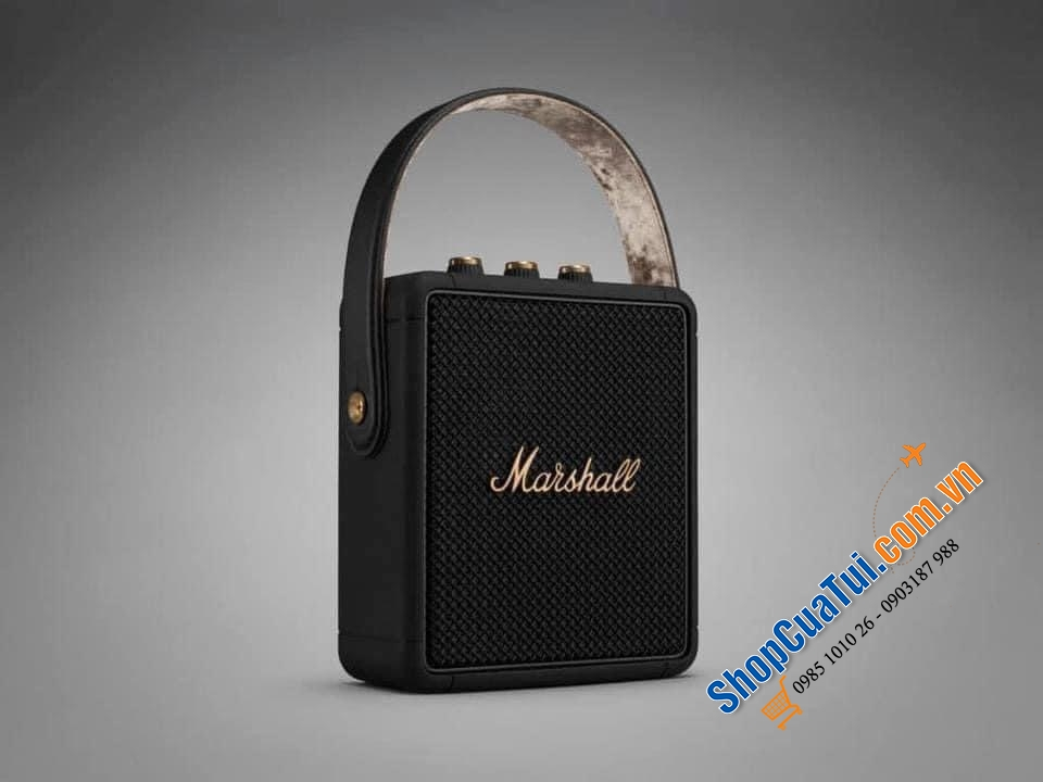 Limited edition Marshall Stockwell 2 black & brass.